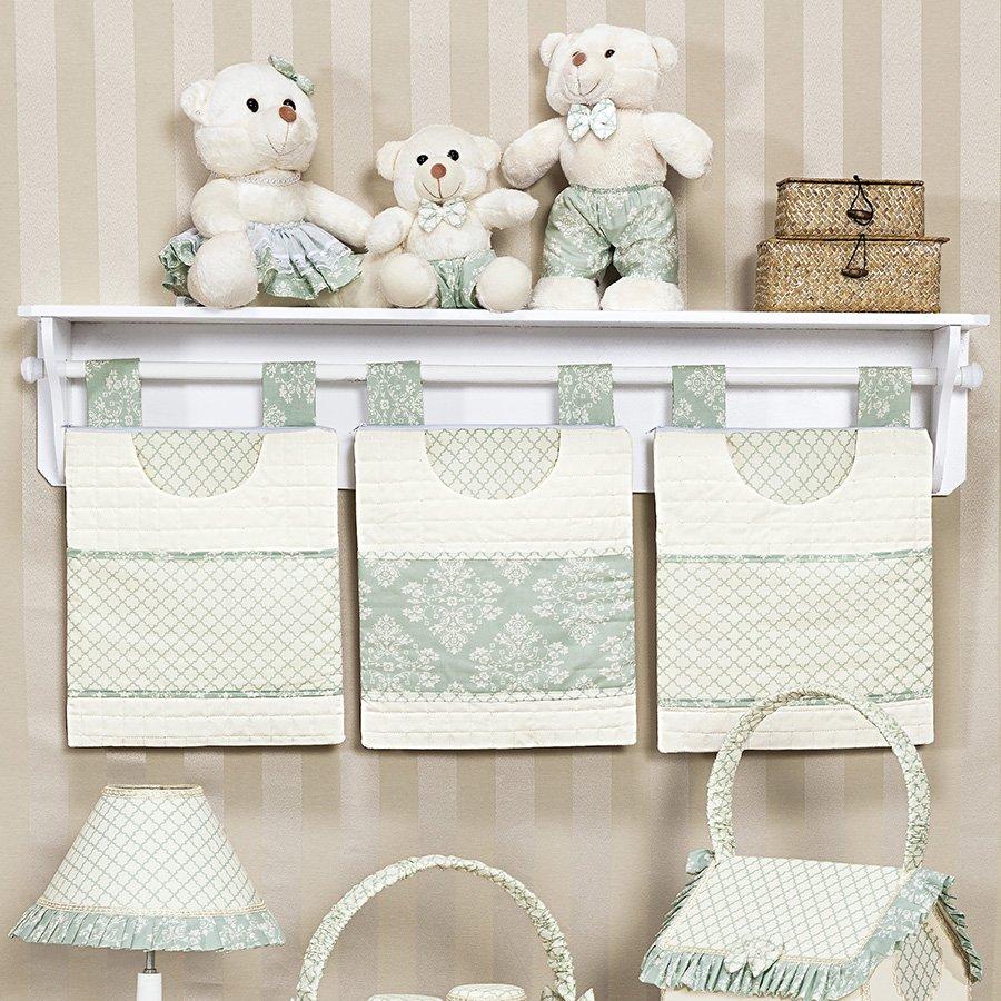 Prateleira para quarto de bebe com porta treco yazzic for Porta m