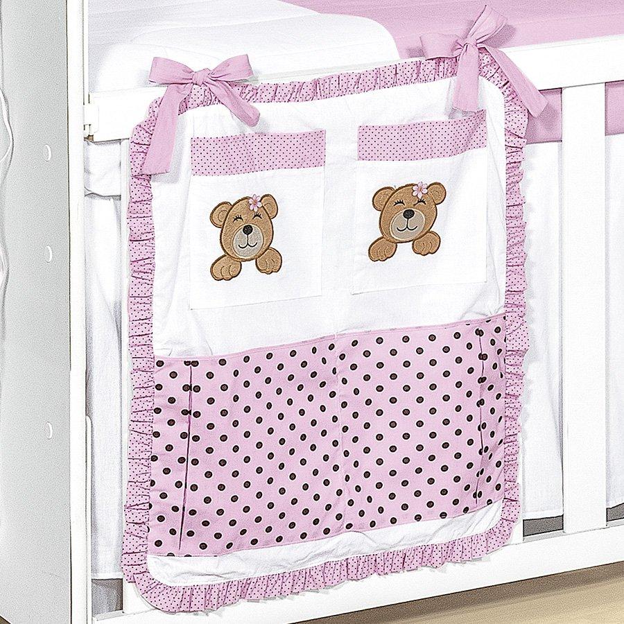 Quarto Para Bebe Urso Soninho Rosa ~  berco bebe soninho rosa 100 algodao quarto bebe menina 26821 jpg