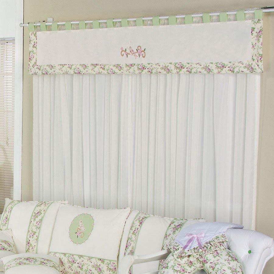 20170113231600 cortinas para quarto com varao duplo - Cortinas para bebes ...