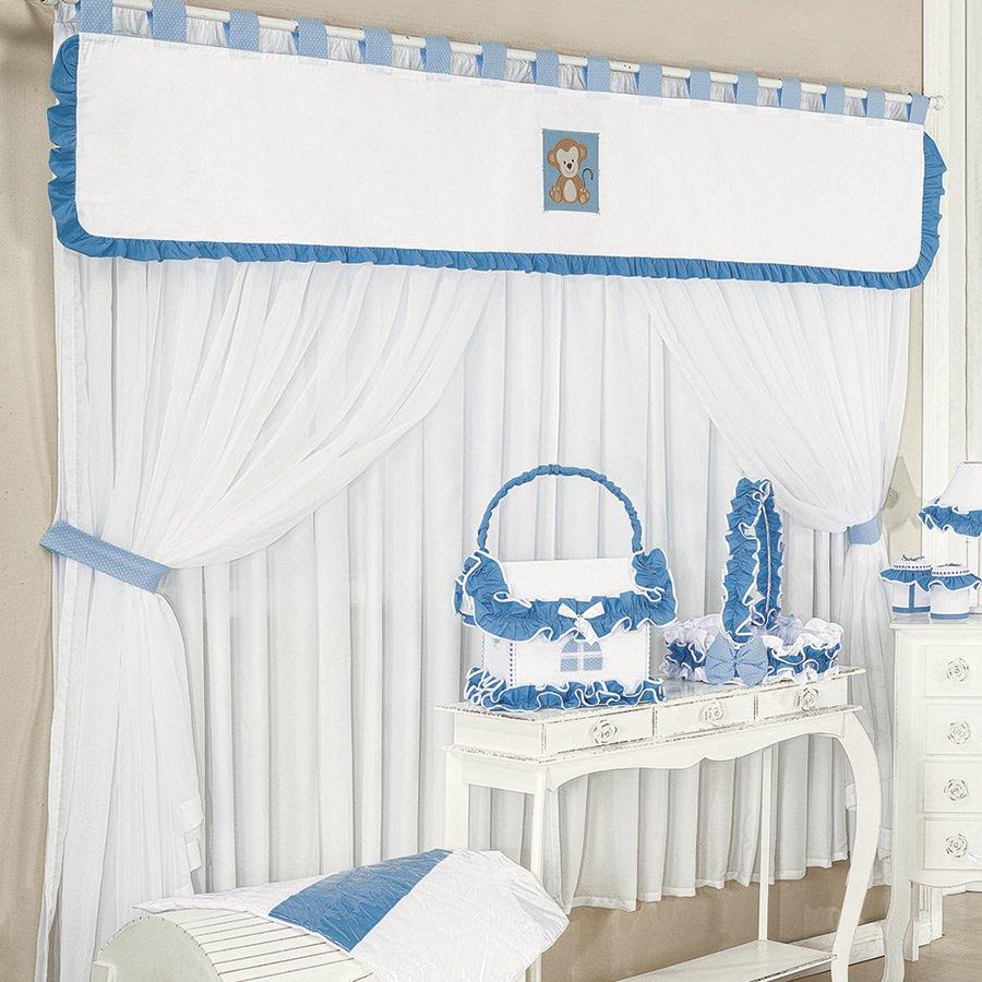 20170408141501 cortina safari para quarto de bebe - Cortinas para bebe ...
