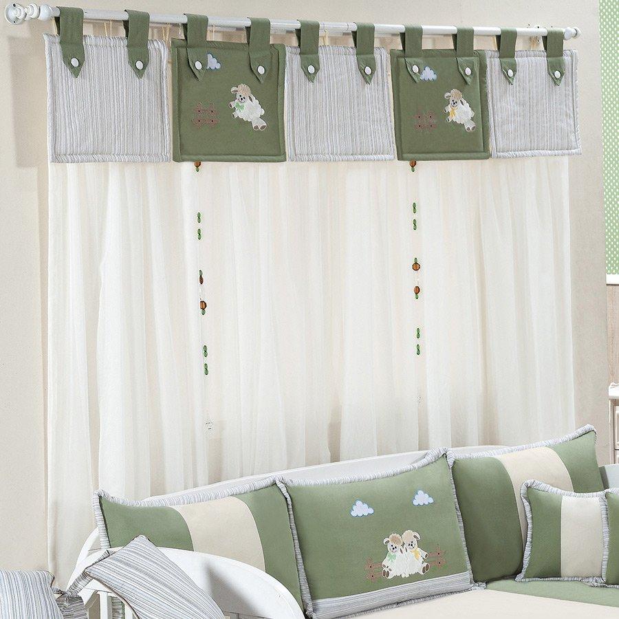20170113231600 cortinas para quarto com varao duplo - Cortinas para bebe ...