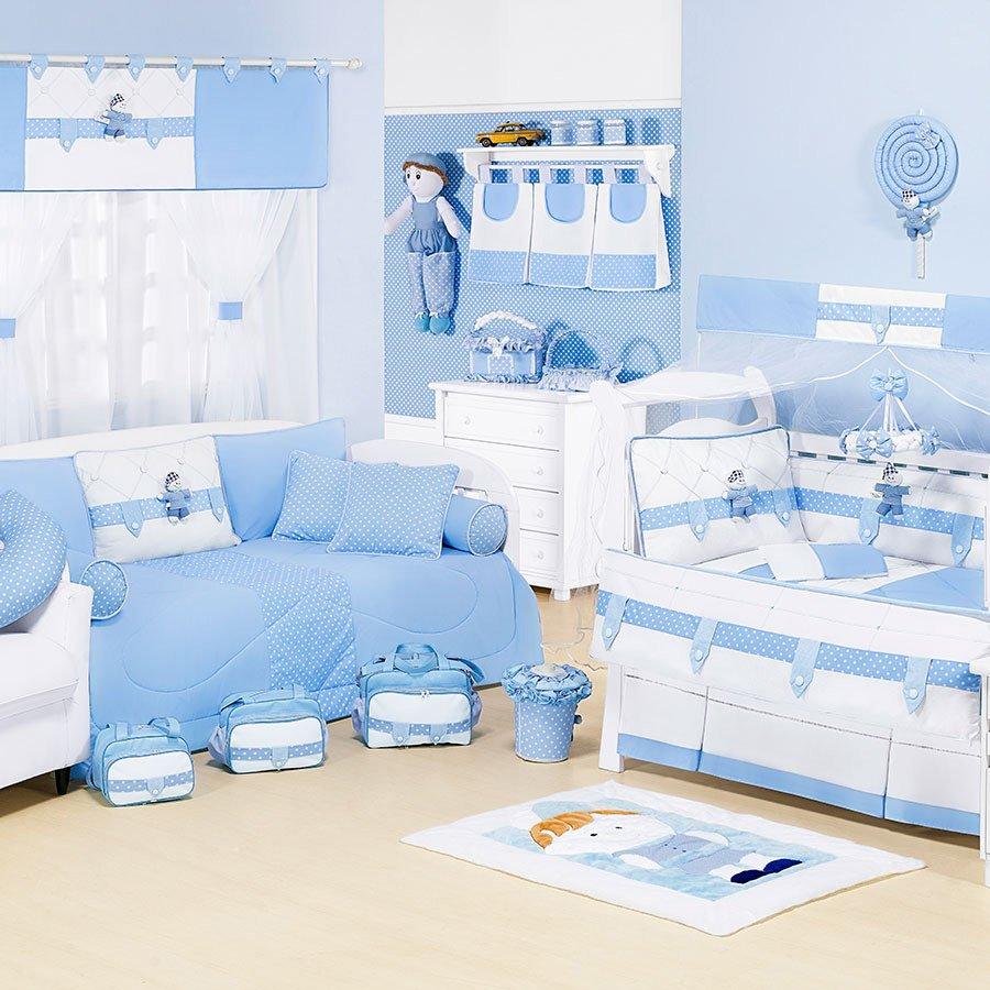 Quarto De Menino Azul Pictures to pin on Pinterest ~ Quarto Para Bebe Masculino Azul