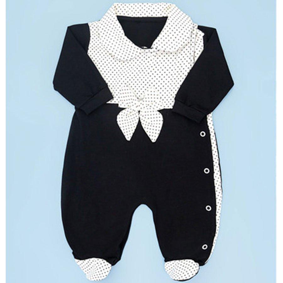 Macacão de Bebê Linda Li Preto
