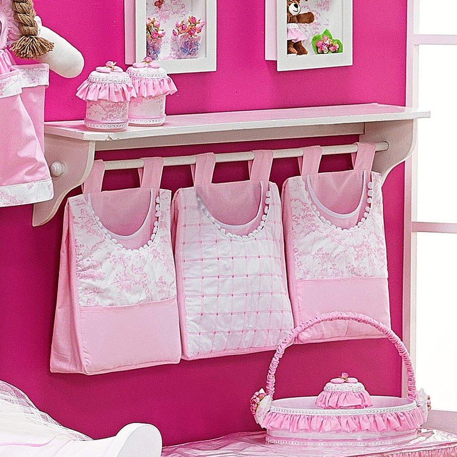 Porta Fraldas Para Varão Enxoval para Quarto de Bebê  ~ Quarto Rosa De Princesa