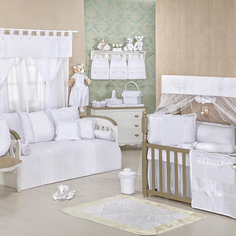 Quarto Bebe Moderno Clean Redival Com ~ Quarto Lilás E Branco Com Quarto Neutro Para Bebe