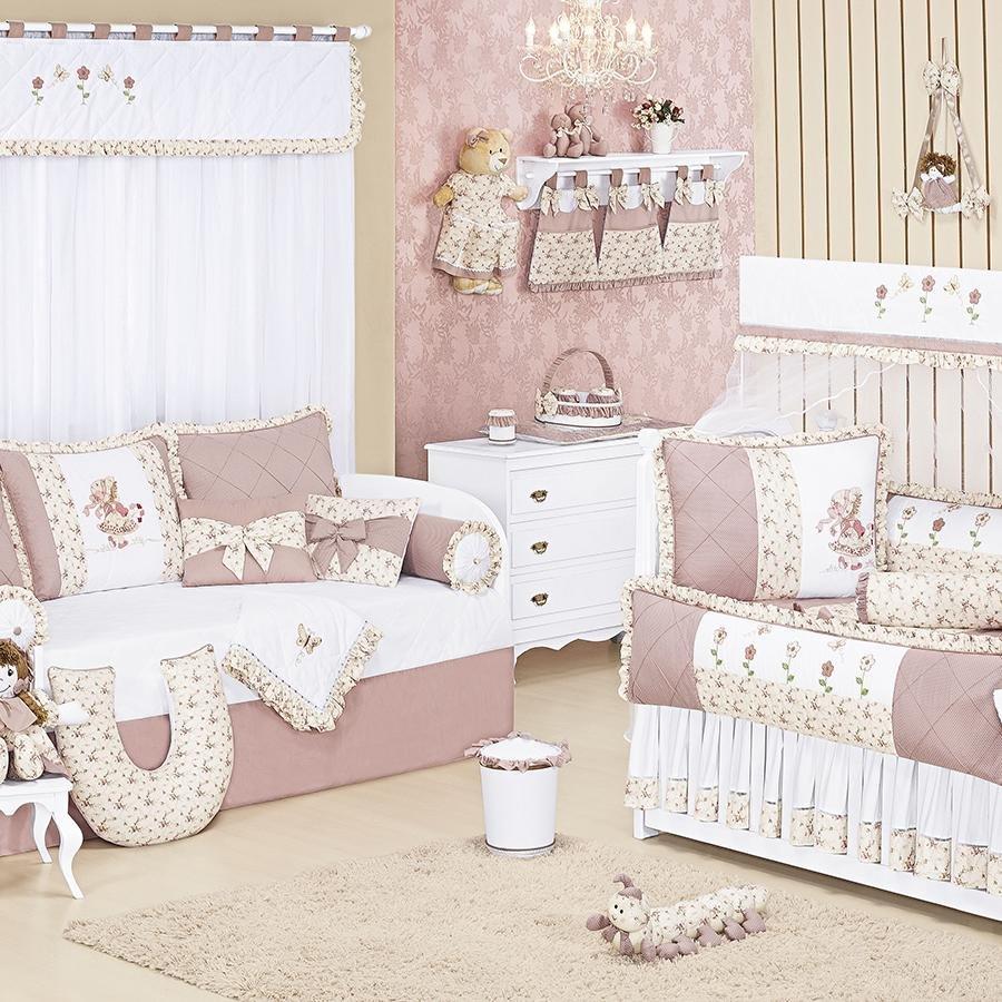 Quarto de beb nina essencial enxovais for Divan cama completo