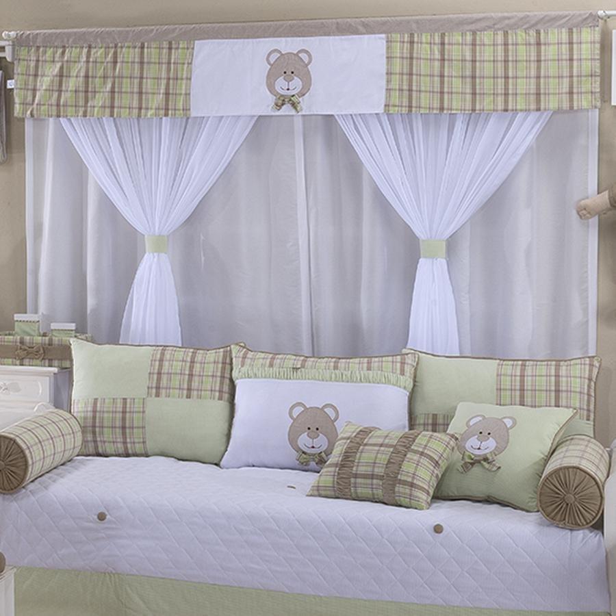 Cortina para quarto de bebe tema urso - Cortina para bebe ...