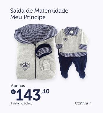 Saída de Maternidade Menino